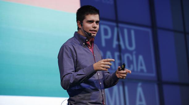 Pau García-Milà, el impulsor de eyeOS (un escritorio virtual)