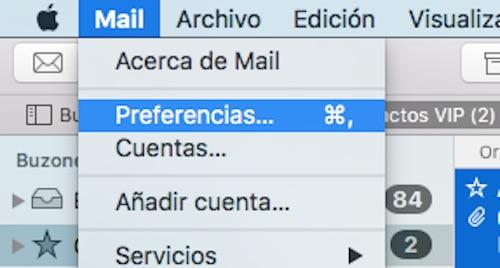 Mail OS X 1