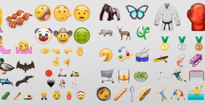 Emoji Unicode 9.0 2