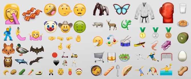 Los nuevos emoji llegarán a finales de junio