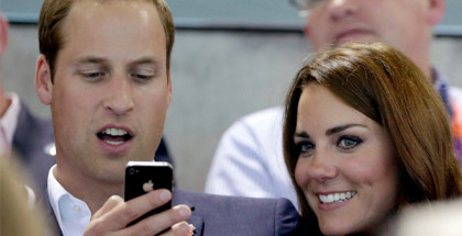 Principe William iPhone