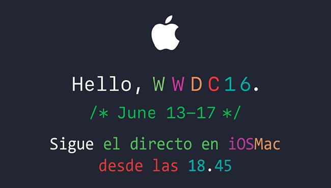 WWDC 2016: no te pierdas el directo de iOSMac desde las 18.45