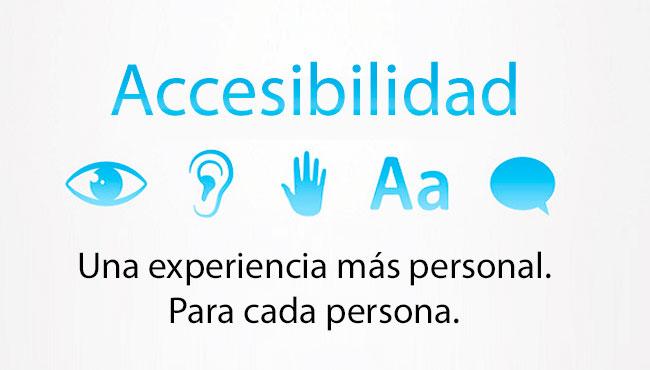 7 consejos para mejorar la accesibilidad en tu iphone o for Que es accesibilidad
