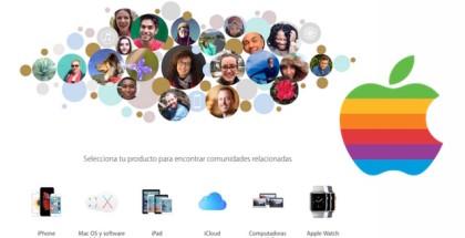 apple soporte técnico comunidad