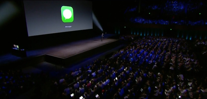 iOS 10 impulsa la aplicación iMessage con third-party apps
