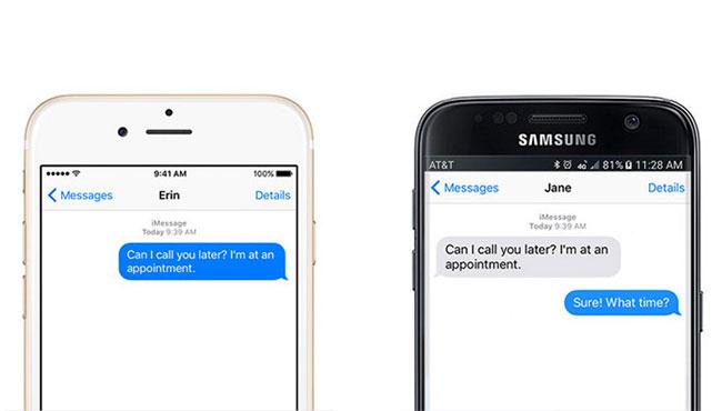 Mensajes para Android finalmente no será liberado por Apple