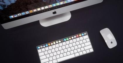 mac concepto teclado
