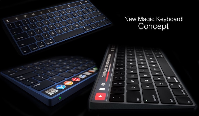 magic teclado keyboard concept mac