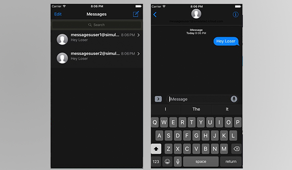 iOS 10: un desarrollador descubre un oculto modo oscuro