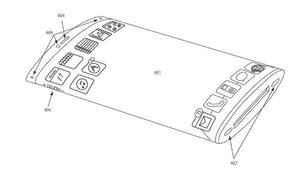 Este es el prototipo de Apple para un dispositivo con pantalla curvada y de 360 grados.