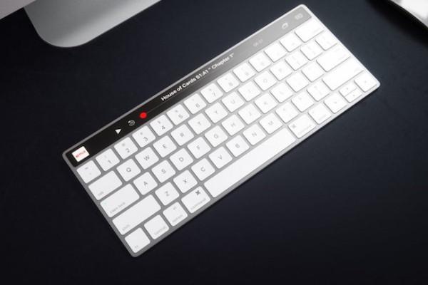 teclado mac oled táctil