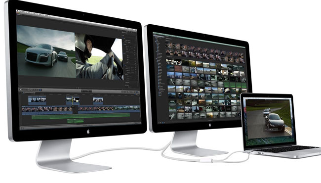 El monitor Thunderbolt de Apple no continuará a la venta.
