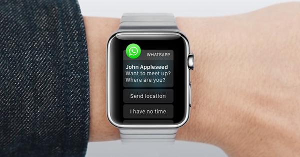 Apple watch mensajes