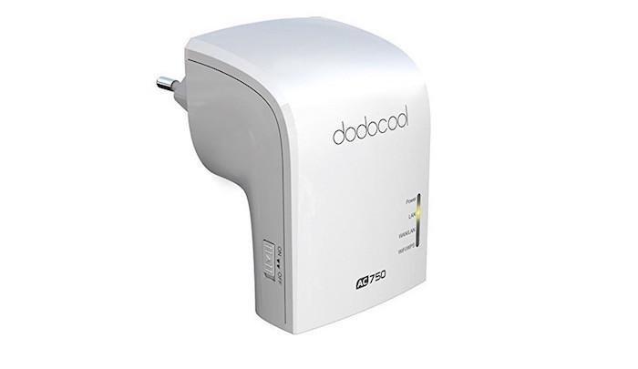 Mejora la cobertura WiFi en casa gracias a AC750 Dual Band de dodocool