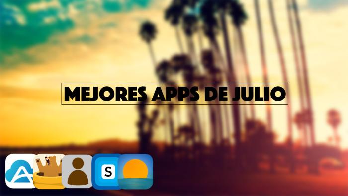Las mejores aplicaciones de Julio para iPhone y iPad