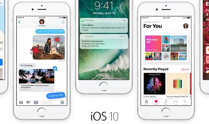 Cambios en la beta 6 de iOS 10, macOS Sierra y watchOS 3
