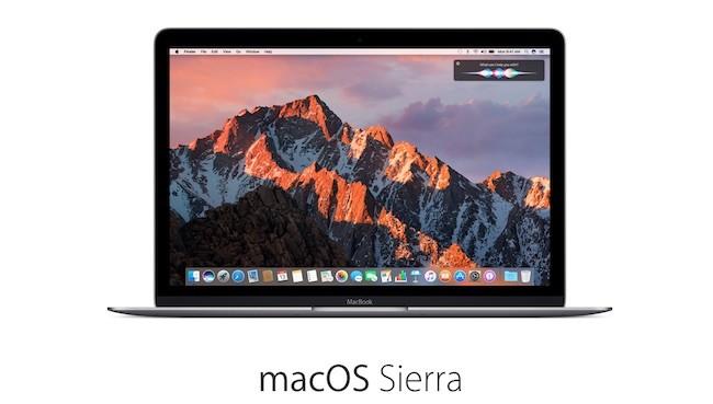 macOS Sierra ya está en tu Mac