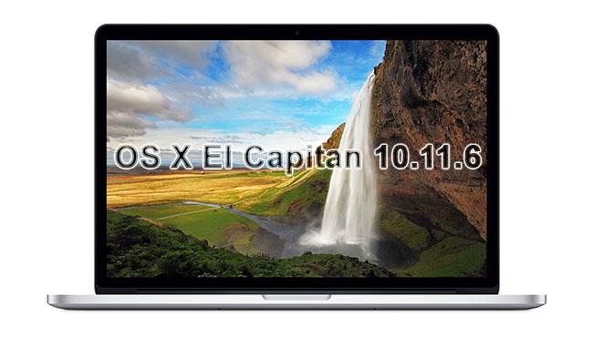 OS X El Capitan 10.11.6 disponible en la Mac App Store