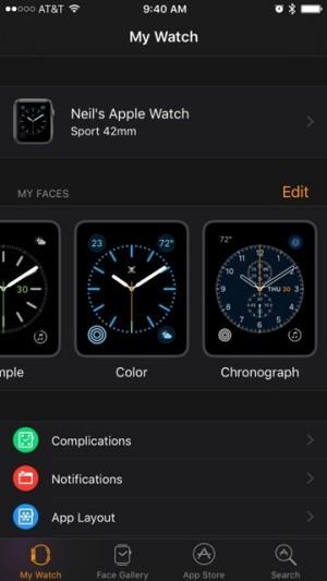 """Dentro de My Watch, encontramos una nueva sección llamada """"My faces"""" desde la que podremos ver todas las watch faces disponibles."""
