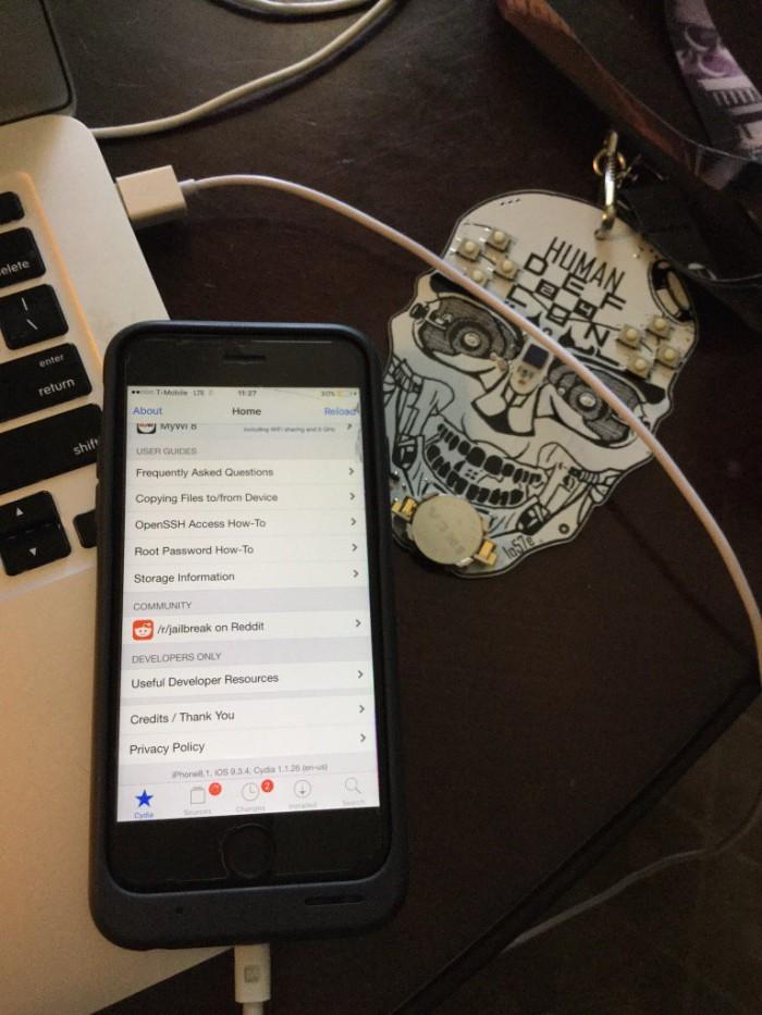 Jailbreak iOS 9.3.4: Luca Todesco realiza otra vez la hazaña
