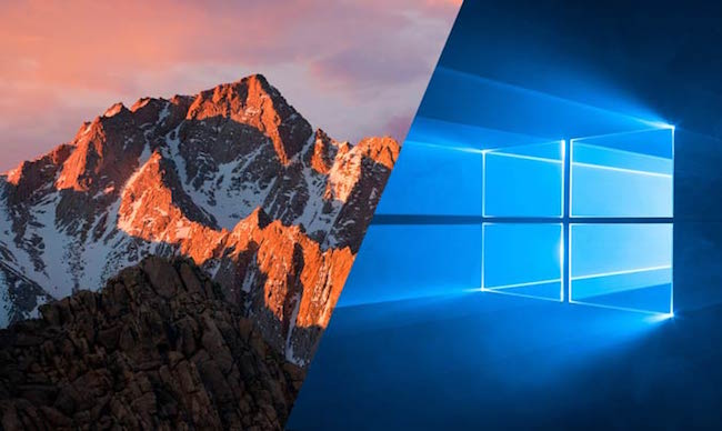 Windows 10 vs macOS Sierra: la batalla aún continúa