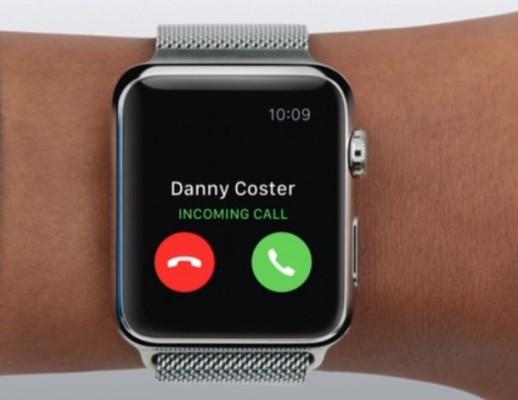 ¿Cómo descartar una llamada entrante desde el Apple Watch?