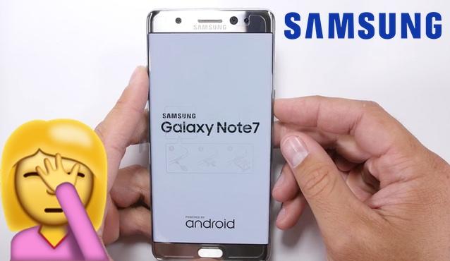 Samsung retira el Galaxy Note 7. Un producto acabado