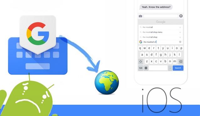 GBoard, el teclado de Google, ya disponible en todo el mundo
