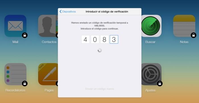 Cómo desactivar la verificación en dos pasos de nuestro Apple ID