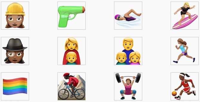 iOS 10 nuevos emoji Apple