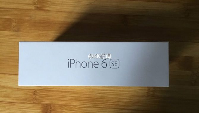 El packaging del supuesto futuro iPhone 6 SE es falso