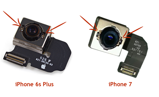 iPhone 7 cámara detalle