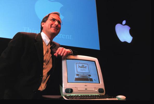 El iMac G3 llegó de la mano de Steve Jobs para salvar Apple