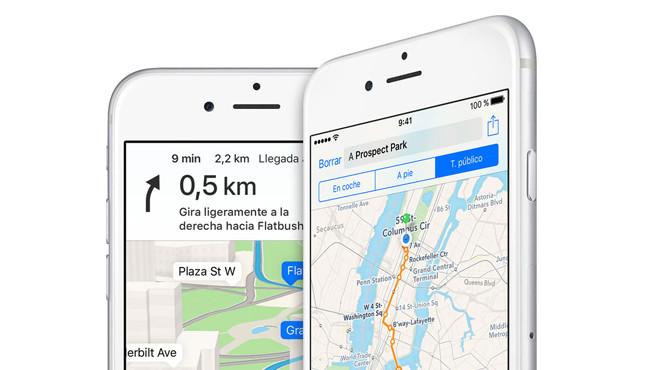 La App De Mapas En iOS 10