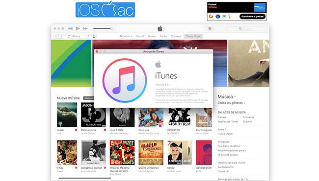 iTunes 12.4.3 resuelve el problema con las listas de reproducción