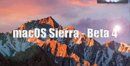 macos sierra beta 4