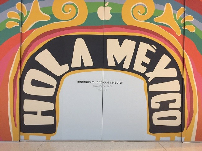 Apple Store Mexico 15sep
