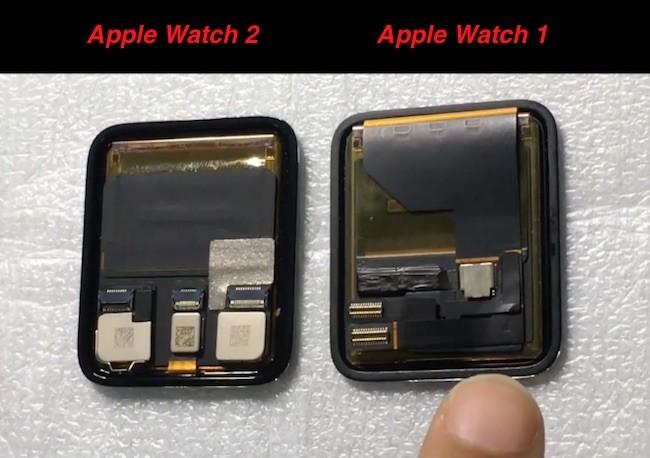 Parte Posterior de la pantalla táctil LCD