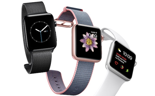 Apple Watch 2 - pantalla brillante de 100 nits
