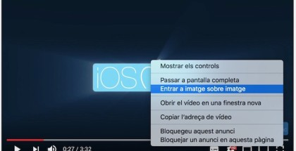 Picture-In-Picture macOS Sierra Youtube iOSMac