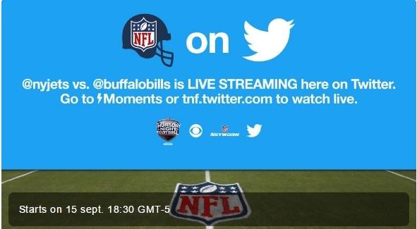 Twitter y NFL
