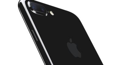 iPhone 7 JetBlack Fondo blanco