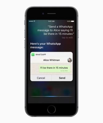 iOS 10: La integración de Siri con aplicaciones de terceros