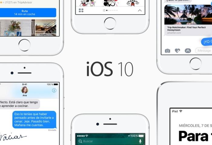 Apple lanza iOS 10.1 beta 2 y watchOS 3.1 para desarrolladores