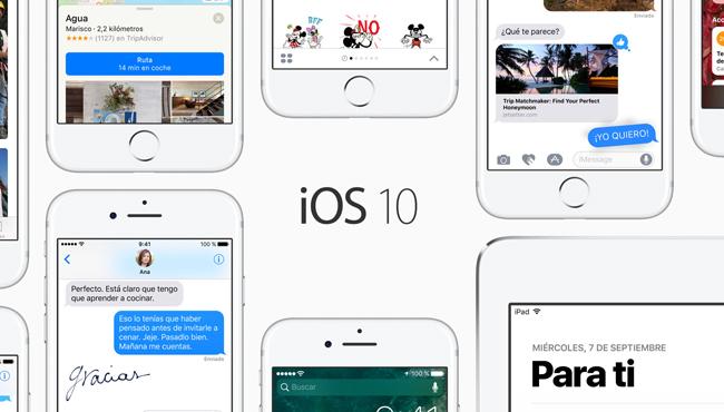 Apple lanza nuevas betas: iOS 10.1, macOS, watchOS y tvOS
