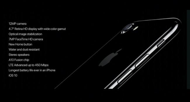 Esto es todo lo que tendrá el iPhone 7