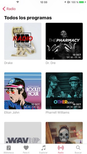 Apple Music - Programas de radio en Beats 1