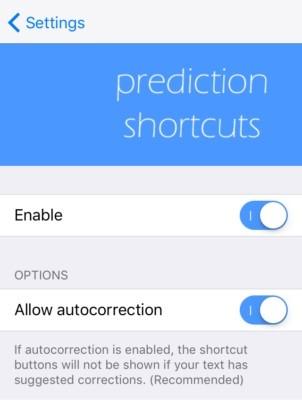 PredictionShortcuts-Preferences