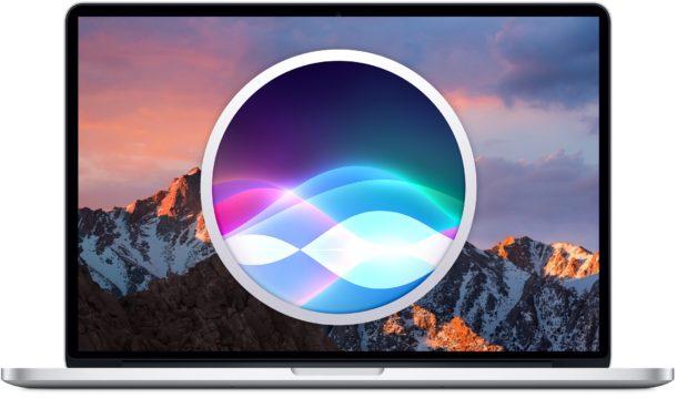 Siri en el Mac
