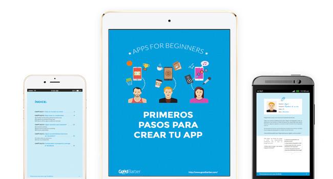 El primer ebook gratuito de GoodBarber te ayuda a crear tu propia app.
